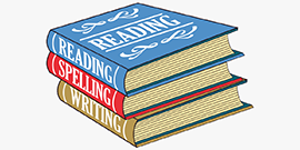Reading Spelling Writing books