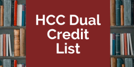 HCC Dual Credit List
