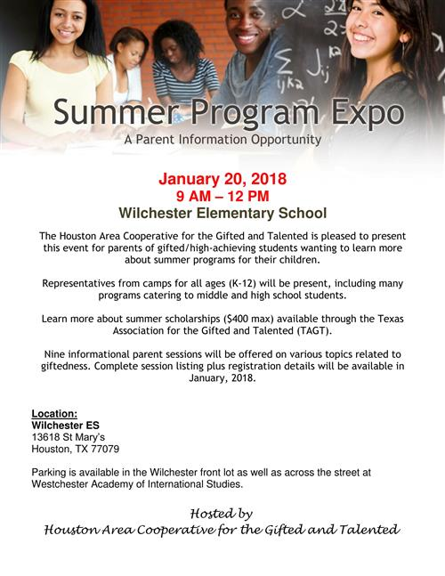Summer Program Expo