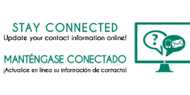 Take a moment to update your contact details to receive important information for your student.