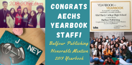 Yearbook Recognized by Balfour