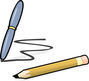 Picture of a Pen and Pencil