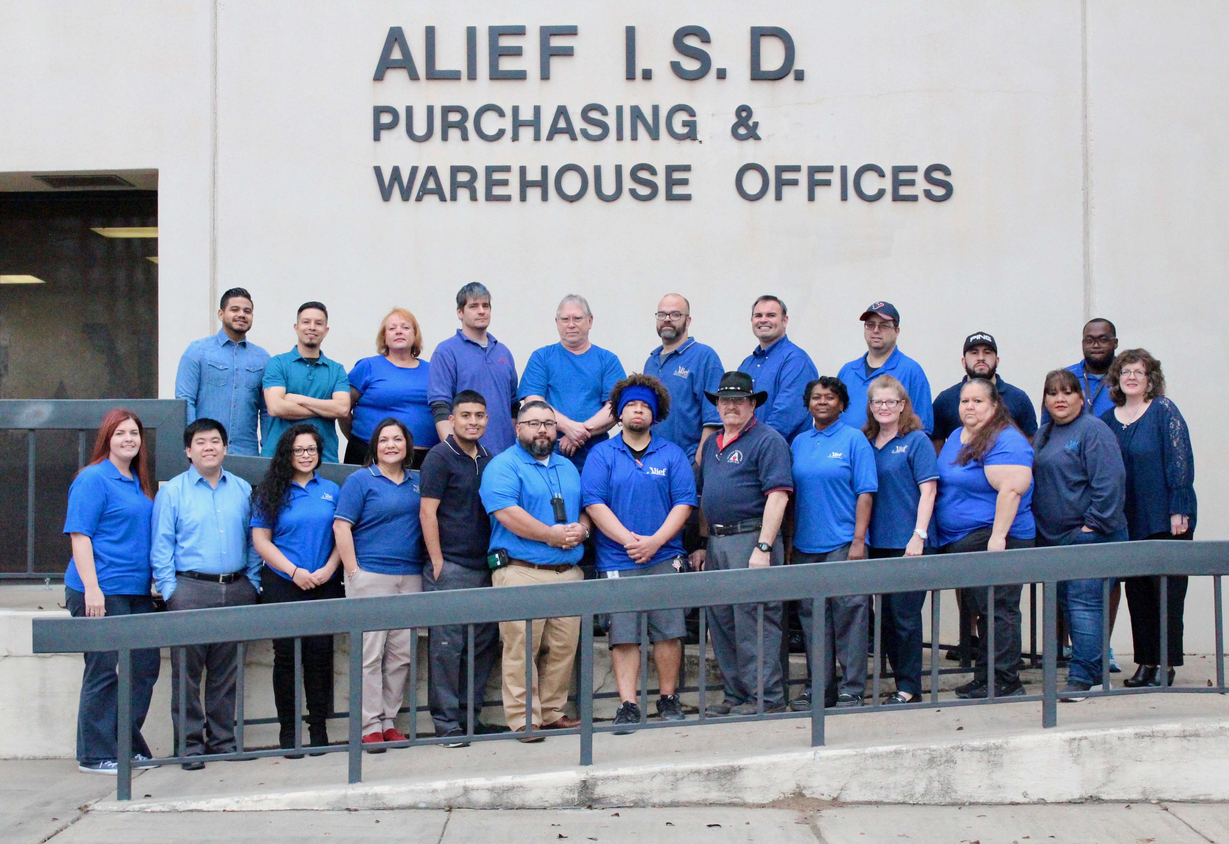 Warehouse and Purchasing Staff