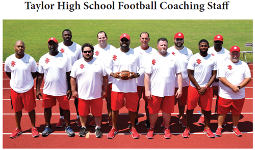 Taylor Football  Coaches
