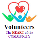 Volunteers, the heart of the community