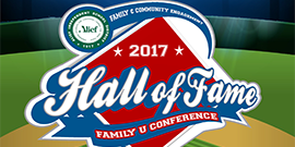 Graphic of 2017 Alief ISD Family U Conference logo